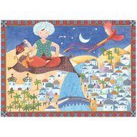 Puzzle, Djeco, Ali baba, DJ07222, puzzle tekturowe, 36 elementów