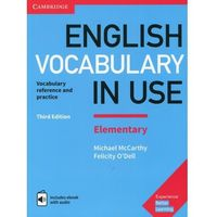 E-booki, English Vocabulary in Use Elementary with answers and ebook with audio - Cambridge University Press