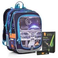 Tornistry i plecaki szkolne, Plecak szkolny Topgal ENDY 17003 BATTERY ACM B