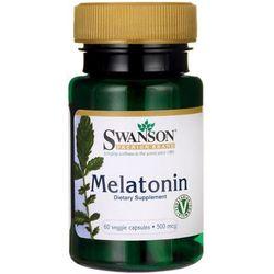 Swanson Melatonina 500mcg 60 kaps.