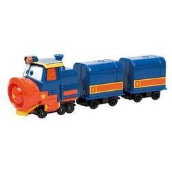 Robot Trains Pojazd z wagonem Victor Deluxe Set