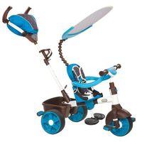 Rowerki trójkołowe, Little Tikes Trójkołowy rowerek 4w1 SPORT biało/niebieski