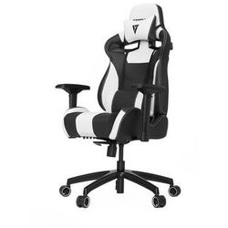 Vertagear S-Line SL4000 Racing Series Krzesło gamingowe - Czarno-biały - Skóra PU - 150 kg