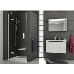 Ravak SmartLine drzwi prysznicowe SMSD2-120b, lewe, Chrom+Transparent 190 cm 0SLGBA00Z1