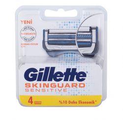 Gillette Skinguard Sensitive Sensitive wkład do maszynki 4 szt dla mężczyzn