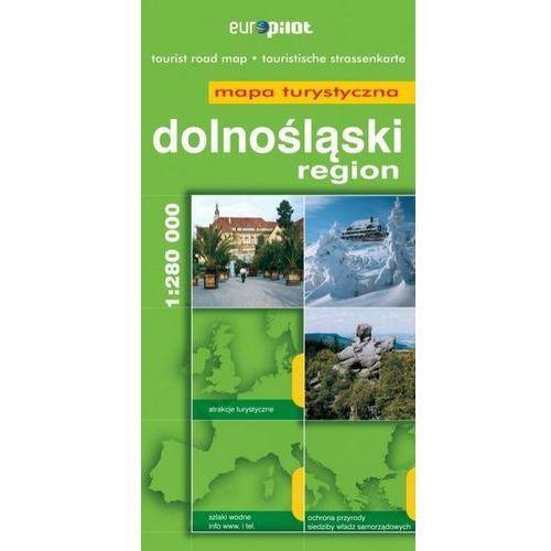 Mapy i atlasy turystyczne, Dolnyśląsk mapa 1:280 000 Pilot (opr. broszurowa)