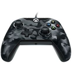 PDP Deluxe Wired Controller - Black Camouflage - Gamepad - Microsoft Xbox One S