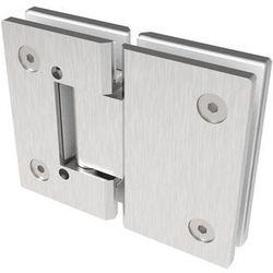 Zawias do drzwi szklanych +/- 90 stopni flex