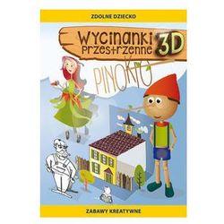 Wycinanki przestrzenne Pinokio. Darmowy odbiór w niemal 100 księgarniach!