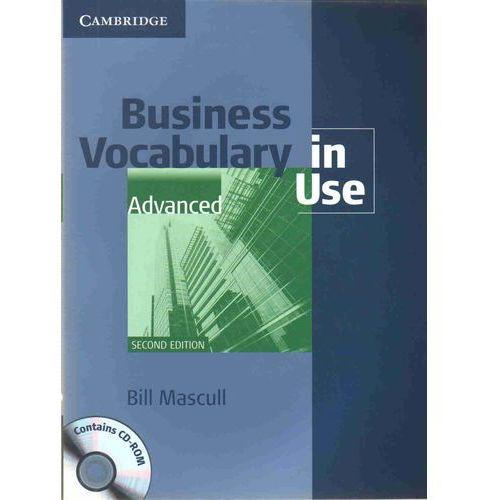Książki do nauki języka, Business Vocabulary In Use: Advanced With Answers And Cd-Rom (opr. miękka)