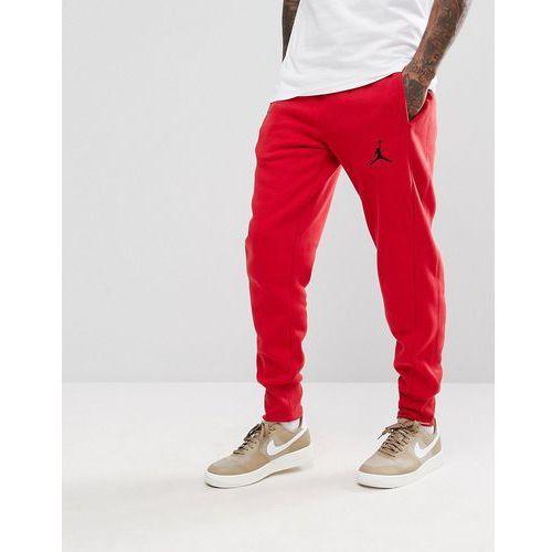 Spodnie męskie, Nike Jordan Flight Joggers In Red 823071-687 - Red