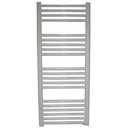 Grzejnik łazienkowy Wetherby wykończenie proste, 500x1200, Biały/RAL -