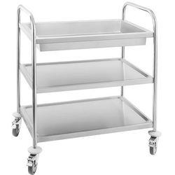 Wózek kelnerski - głęboka półka - nośność statyczna 500 kg