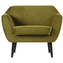 Woood Fotel Rocco velvet oliwkowy 340454-53