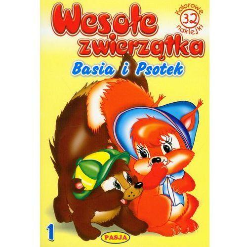 Książki dla dzieci, Weso?e zwierz?tka 1. Basia i Psotek (opr. broszurowa)