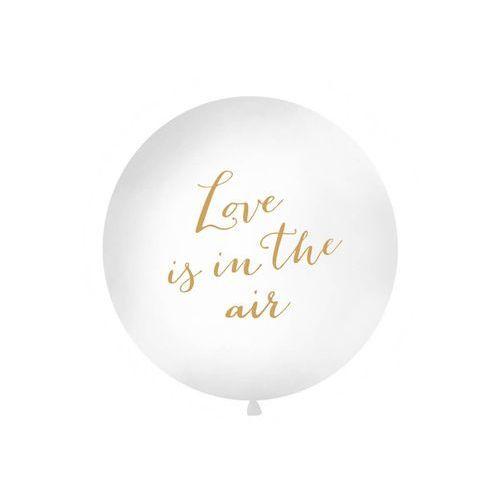 Balony, Balon olbrzym z nadrukiem Love is in the air - 1 metr - 1 szt.