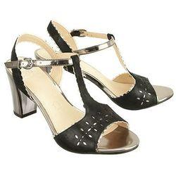 CAPRICE 28305-28 033 black sue comb, sandały damskie