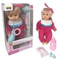 Lalki dla dzieci, Lalka Agusia na baterie (02740). od 3 lat