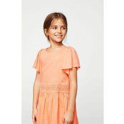 Mango Kids - Sukienka dziecięca Sugar 110-164 cm