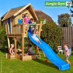 Domek Jungle Crazy Playhouse na platformie XL Jungle Gym