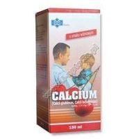 Witaminy i minerały, CALCIUM syrop 150ml - wiśniowy