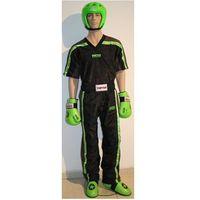 Pozostałe sporty walki, Strój do kickboxingu TOP TEN NEON - czarno-zielony