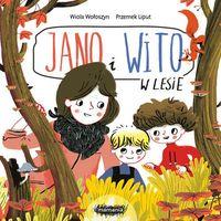 """Książki dla dzieci, Książka """"Jano i Wito. W lesie"""" Wydawnictwo Mamania 9788365796875 (opr. kartonowa)"""