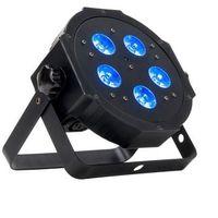 Zestawy i sprzęt DJ, American DJ Mega HEXPAR- reflektor LED RGBWA+UV czarny płaski 5 x 6W