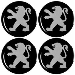 Emblematy 56 mm na felgi do PEUGEOT (zamienniki)