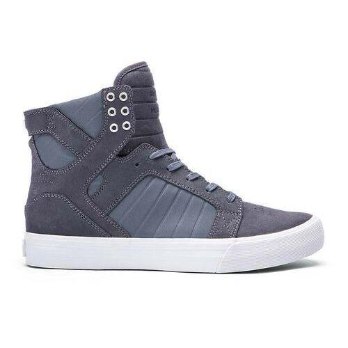 Męskie obuwie sportowe, buty SUPRA - Skytop Hf Magnet-Grey (MGT) rozmiar: 44