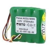 Akumulatorki, Akumulator NiMH AA 4.8V 2.7Ah 4S1P