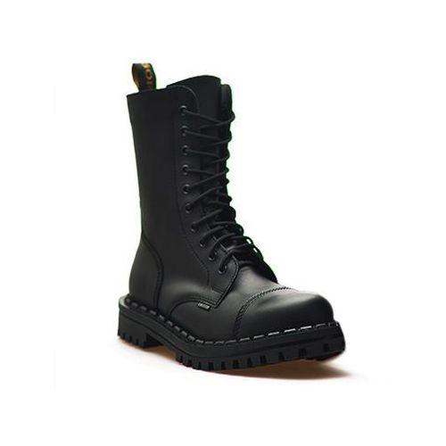 Pozostałe obuwie męskie, Glany Gregor 01062-ME-B10XX-D10XX-XX Czarne Lico