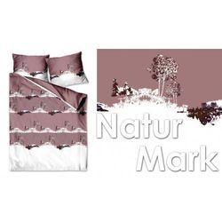 Pościel Satynowa Greno 220x200 Natur Mark