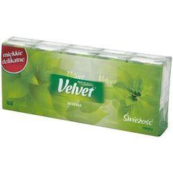 Velvet Chusteczki higieniczne zapachowe Aroma Świeżość mięta 10x9szt