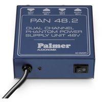 Pozostały sprzęt estradowy, Palmer Pro PAN 48 2-kanałowe urządzenie do zasilania phantom Płacąc przelewem przesyłka gratis!