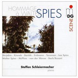 Krenek/Schulhoff/Spies - Hommage A Walter Spies