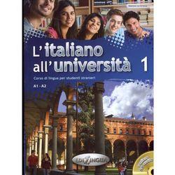 L'italiano all'universita 1 podręcznik + ćwiczenia + CD audio (opr. miękka)