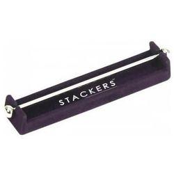 Stojak na charmsy Stackers ciemny fiolet