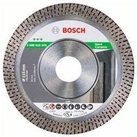 Tarcze do cięcia, Tarcza diamentowa BOSCH Best for HardCeramic 115 x 22 mm (2608615076)