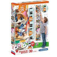 Puzzle, Puzzle 30 elementów Measure Me Cats + 2-gi zestwa 10% TANIEJ!!