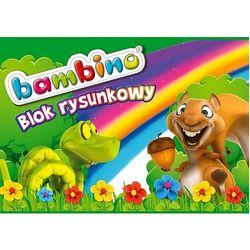 Blok rysunkowy A4 Bambino, 20 kartek
