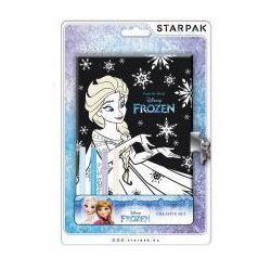 Starpak Pamiętnik zamykany z pisakami Frozen #N1