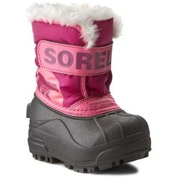 Śniegowce SOREL - Toddler Snow Commander NV1877 Tropic Pink/Deep Blush 652