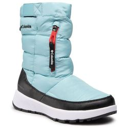 Śniegowce COLUMBIA - Paninaro™ Omni-Heat™ Pull On BL0118 Aquatint/Poppy Red 481