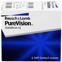 Soczewki kontaktowe, PureVision 6 szt. BC 8.3