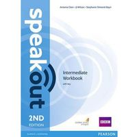 Książki do nauki języka, Speakout 2ed Intermediate Workbook with key-mamynastanie,wyślemyjuż.... (opr. miękka)