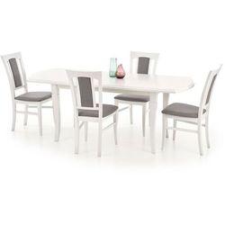 Stół Fryderyk rozkładany 200 biały / orzech / dąb biały