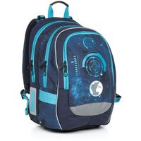 Tornistry i plecaki szkolne, Plecak szkolny Topgal CHI 799 D - Blue