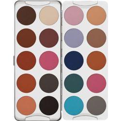 Kryolan EYE SHADOW PALETTE 20 COLORS (SF) Paleta 20 kolorów cieni do powiek - SF (5338)