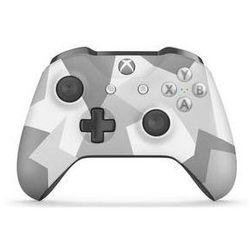 Gamepad Microsoft Xbox One S Wireless - biały / szare maskowanie (WL3-00044)
